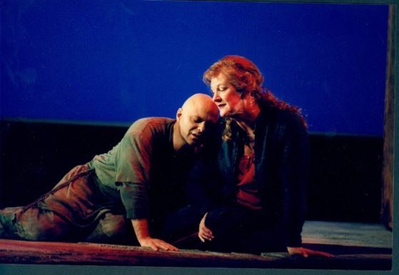 Ion and Creusa in the Music Threatre Wales Production of ION 2003