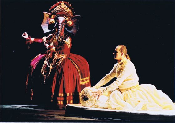 Scene from the Netherlands Opera Production of Broken Strings